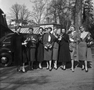 Die La Redoute in Bonn diente schon in den 50er Jahren als Veranstaltungsort für die Luxusmarke Dior aus Paris.