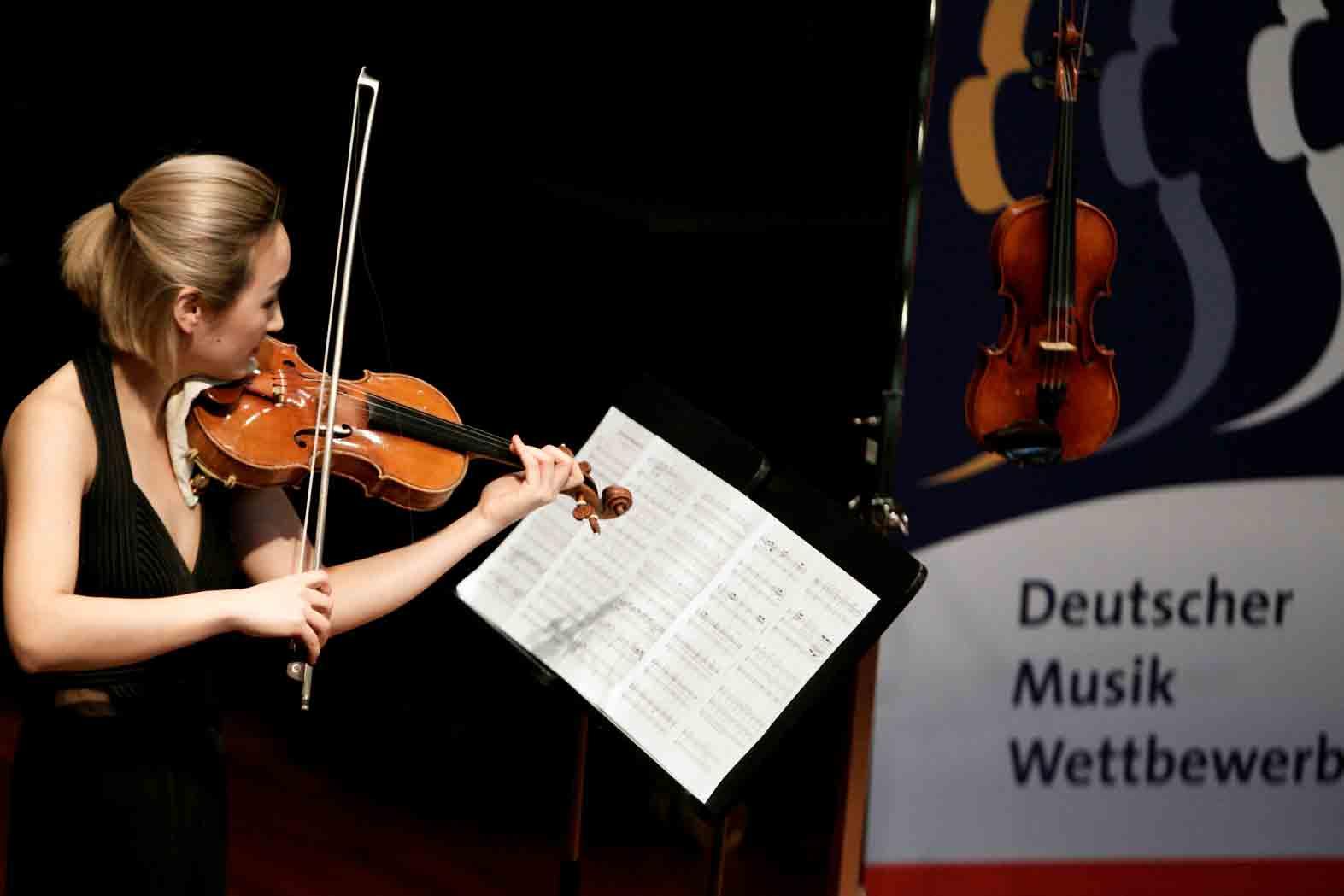 Deutscher Musikwettbewerb 2018 in der Redoute in Bonn-Bad Godesberg.