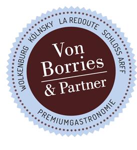 Von Borries und Partner Premiumgastronomie Location Redoute!
